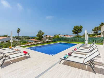 Photo for Villa Sunset -close to beach, modern, private pool, AC & WiFi