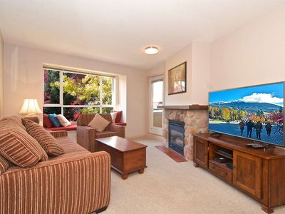 Located in the HEART OF WHISTLER. Spacious Condo with Village Stroll + MOUNTAIN Views