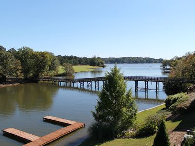 Photo for Lake Oconee 4 Bed 5 Bath Villa Inside Cuscowilla on the Lake!!!