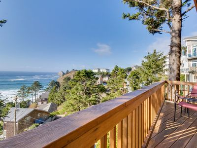 Photo for Perfect oceanside getaway w/magnificent ocean views & beach nearby