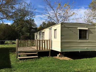 Photo for Campsite Audinac Les Bains *** - Mobile Home 3 Rooms 4 Persons