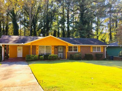 Photo for NEW! Charming Home w/Large Yard - Mins to Atlanta Airport and Downtown!