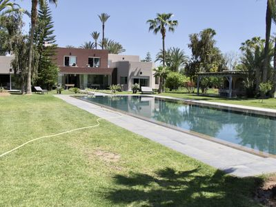 Photo for Villa MAJESTIC for 10 persons with private tennis court, swimming pool, pool house, Sport ..