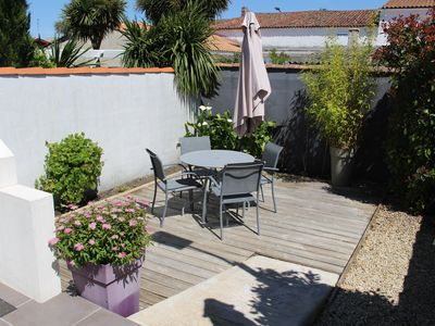 Photo for House downtown, Garage, internet access, Terrace, private enclosed courtyard