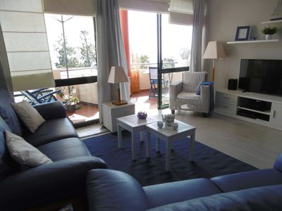 Photo for Beautiful apartment with panoramic views of the Bay of Funchal