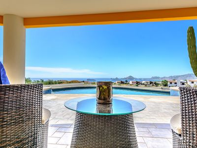 Photo for HUGE OCEAN VIEWS! FREE CAR! BEST VALUE IN CABO!