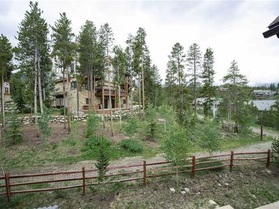 Photo for Bright space with private balcony, hiking & biking trails near by