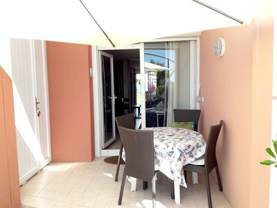 Photo for Homerez last minute deal - Nice studio with pool access and Wifi