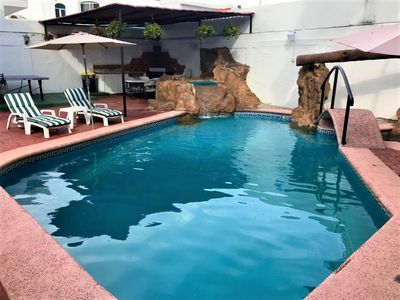 Photo for BEAUTIFUL BUNGALOW WITH PRIVATE POOL, CLOSE TO THE BEACH, GOLDEN ZONE