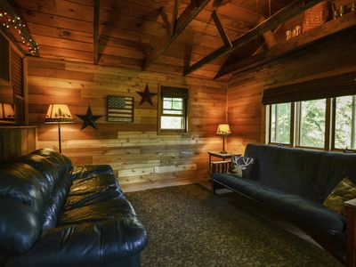 Enjoy the trails, and come home to a cozy retreat!
