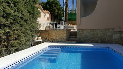 Photo for SUNNY and comfortable DETACHED HOUSE CLOSE TO BENIDORM AND ALBIR