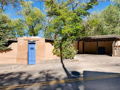Photo for Historic authentic, fully renovated Santa Fe adobe