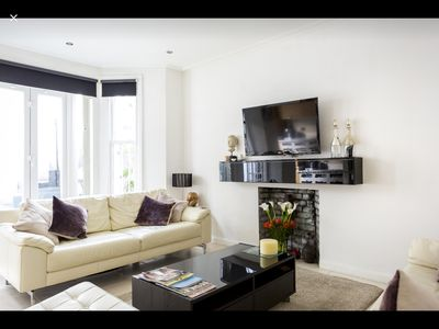 Photo for Beautiful Centrally located 2 Bedroom Garden Flat West Kensington London
