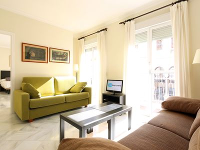 Photo for Rioja 2A. 2 bedrooms and 2 bathrooms in the centre