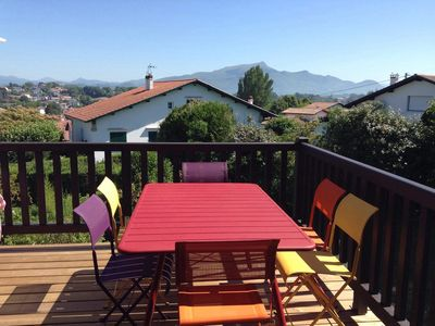 Photo for Rental House Basque Saint Jean de Luz mountain view