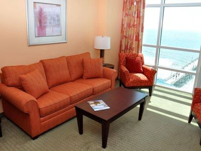Photo for Oceanfront 2 Bedroom Condo with Lots of Amenities