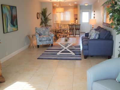 Photo for 104- Recently Renovated  with Outdoor Patio w/ Siesta Key Beach across the street!