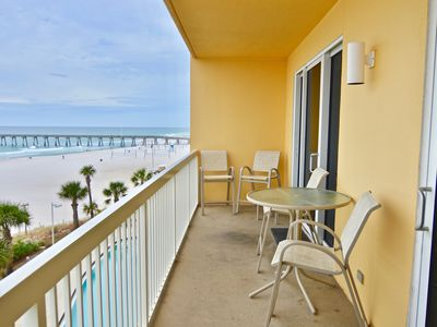 Photo for UNIT 404W. OPEN 5/11-18 NOW ONLY $1876 TOTAL! WOW VIEWS! WALK TO PIER PARK!