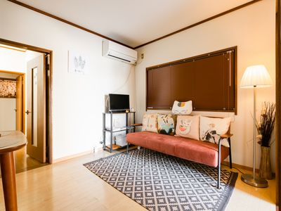 Photo for 5 minutes on foot from the station, Namba, 8 minutes directly from Shinsaibashi, ☆ 2LDK ☆ Two-storey Japanese-style guest house