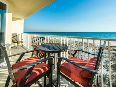 Photo for ☀Sea Dunes 204-3BR☀OPEN May 22 to 24 $1300! Beachfront- Beach SVC! Fishing Pier
