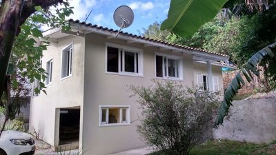 Photo for House in Barra da Lagoa, 800m from Mole Beach, for up to 04 people