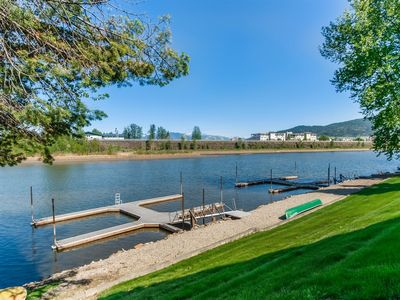 Photo for Sandpoint *IN TOWN* Waterfront Condo! Driftwood #3 - Walk Everywhere