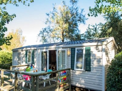 Photo for Camping La Dune Blanche * - 4 Rooms Mobile home 6 People