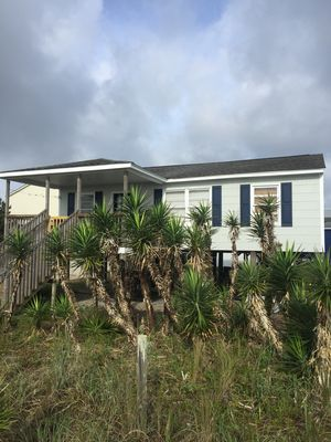 Photo for Ocean front 3 bedroom rustic beach cottage