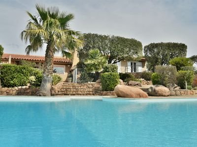 Photo for Villa type luxury country house large private heated pool near Palombaggia