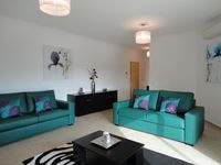 Fantastic spacious apartment, fabulous balcony, great location Gave us a brilliant 5 day break