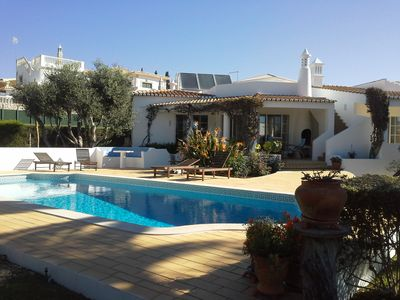 Photo for Villa with pool and a lovely garden on a 1,400 m2 property near the beach
