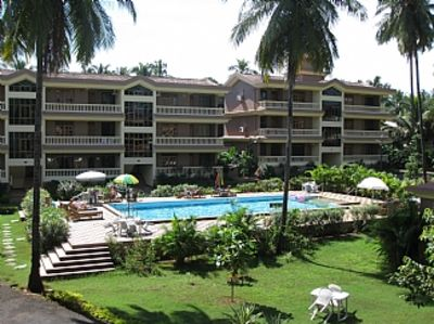 Furnished Apartment In Regal Park With Serene Pool And Garden Views