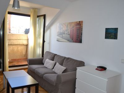 Photo for Apartment in the center of Salamanca with Internet, Air conditioning, Lift, Balcony (441620)