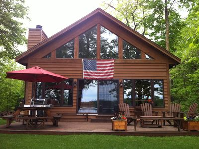 Photo for Room to Relax on Big Wood Lake with Pontoon Boat Option!  Open all year