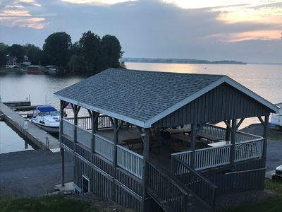Photo for Watch the Big Ships from Millen Bay Waterfront Accommodations