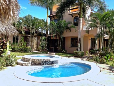 Photo for 123: GRAND ESTATE, 3 POOLS, OCEAN VIEWS, YOGA TERRACES, PINGPONG, COOL BREEZES!!