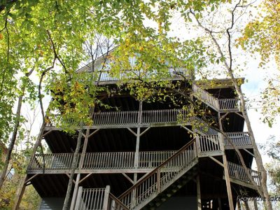 Photo for Beautiful 6 Br/4 Ba Lakefront- Flat Hollow- Private Dock