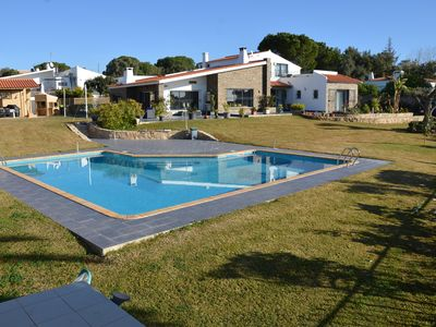 Photo for OLHOS D AGUA- ALBUFEIRA- Beautiful Villa- For 2 families, swimming pool, sea 3 km, 8 pers