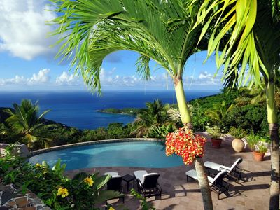 Photo for Canefield House - Luxury 3 Bedroom Villa On Tortola