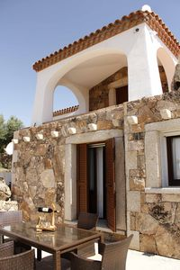 Photo for Four-room Agrustos with pool and sea view