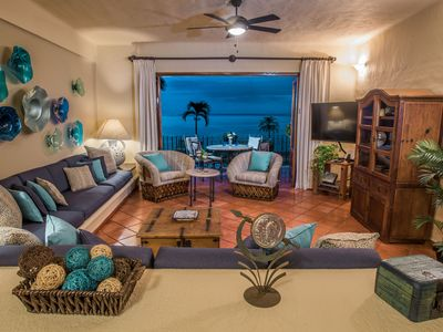Photo for Breathtaking Ocean Views & Traditional Mexican Charm in Conchas Chinas!