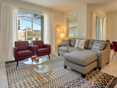 Photo for Modern Bargains - Champions Gate Resort - Welcome To Relaxing 4 Beds 3 Baths Townhome - 7 Miles To Disney