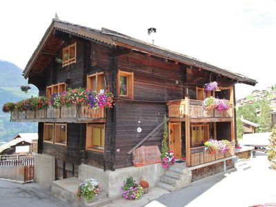 Photo for cosy property in a chalet with authentic atmosphere.