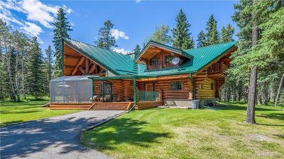 Photo for Tranquillo--A Secluded Log Home Getaway in Bragg Creek