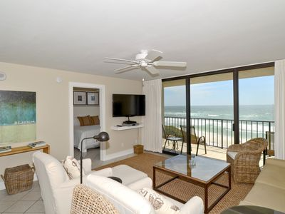 Photo for Choice End Unit--Renovated, Private, with Great Views. Beach Service Included!
