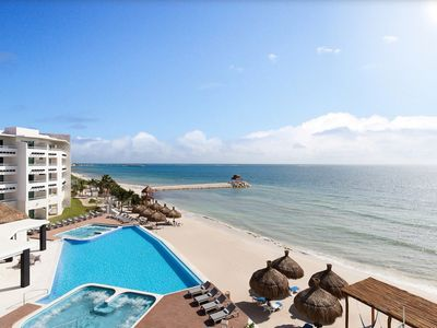 Photo for Xmas In Mexico with 2 All-Inclusive Platinum Bracelets, extra bracelets optional