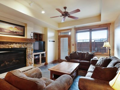 Photo for NEW LISTING! Upscale condo w/hot tub, firepit & shared pools/gym -walk to slopes