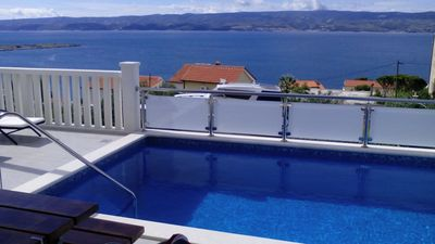 Photo for Apartments Chiorich / Two bedrooms A6 / Private Pool