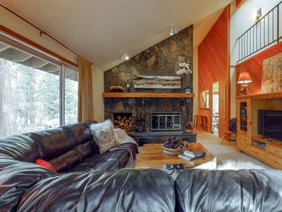 Photo for Dog-friendly mtn home w/ shared pool & hot tub - year round outdoor fun awaits!