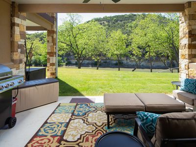 Photo for Spacious ground floor 2/2 condo on the Guadalupe River!